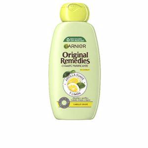 Purifying shampoo ORIGINAL REMEDIES champú arcilla y limón Garnier