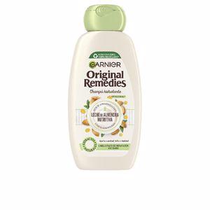 Champú hidratante ORIGINAL REMEDIES champú leche almendras Garnier