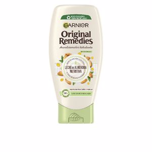 Haar-Reparatur-Conditioner ORIGINAL REMEDIES leche almendras acondicionador Garnier