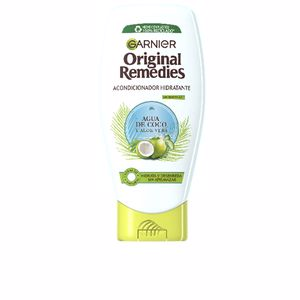 Detangling conditioner ORIGINAL REMEDIES condicionador agua coco y aloe Garnier