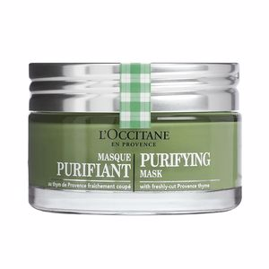 Acne Treatment Cream & blackhead removal MASQUE purifiant L'Occitane