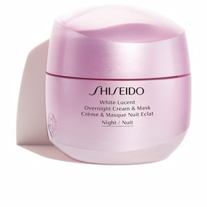 Tratamiento Facial Iluminador WHITE LUCENT overnight cream & mask Shiseido