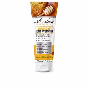 Face scrub - exfoliator MANUKA HONEY scrub invigorating Naturalium