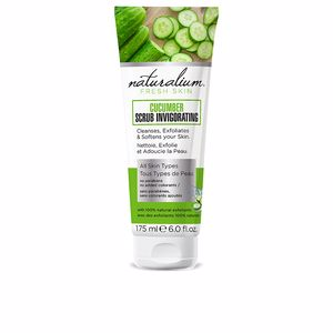 Exfoliante facial CUCUMBER scrub invigorating Naturalium