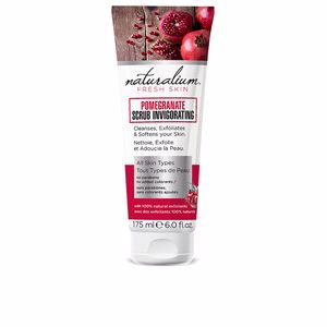 Face scrub - exfoliator POMEGRANATE scrub invigorating Naturalium