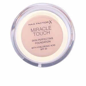 Fondation de maquillage MIRACLE TOUCH liquid illusion foundation Max Factor
