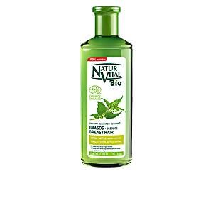 Champú purificante CHAMPU BIO ECOCERT cabellos grasos Natur Vital
