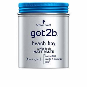Producto de peinado GOT2B BEACH BOY matt paste sufer look Schwarzkopf