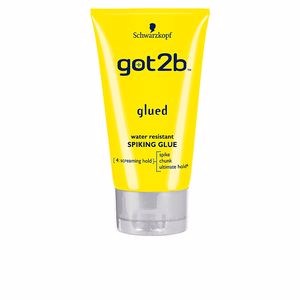 Hair styling product GOT2B GLUED water resistant spiking glue Schwarzkopf