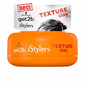Hair styling product GOT2B ISTYLERS texture clay Schwarzkopf