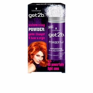 Hair styling product GOT2B POWDER'FUL volumizing styling powder Schwarzkopf