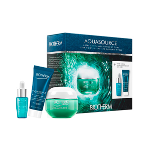 Hautpflege-Set AQUASOURCE GEL SET Biotherm