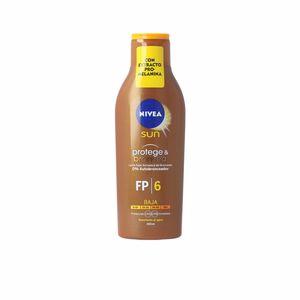 Body SUN PROTEGE&BRONCEA leche SPF6 Nivea