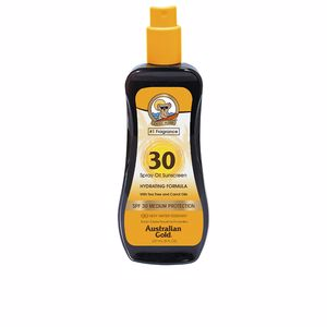 Corporais SUNSCREEN SPF30 spray oil hydrating with carrot Australian Gold