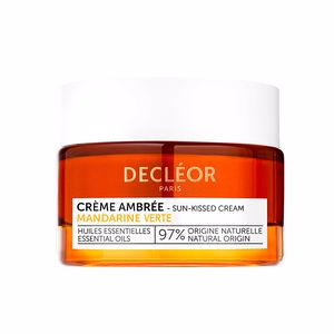Anti aging cream & anti wrinkle treatment AROMESSENCE GREEN MANDARINE crème jour effet peau dorée Decléor