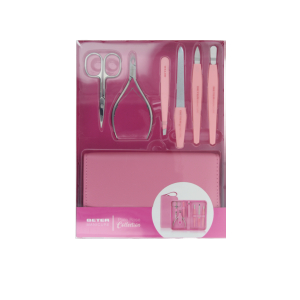 Schminkset & Kits WOMEN PIXIE ROSE SET MANICURA SET Beter