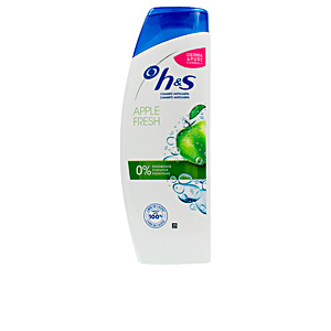 Shampoo antiforfora H&S MANZANA limpio y fresco champú Head & Shoulders