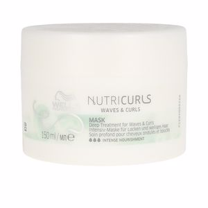 Anti frizz mask NUTRICURLS mask Wella