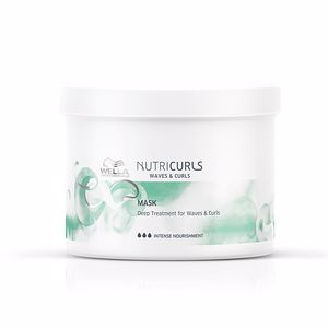 Maschera anti-crespo NUTRICURLS mask Wella