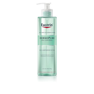 Cleansing milk DERMO PURE oil control gel limpiador facial Eucerin