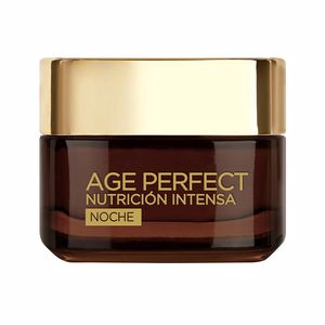Anti aging cream & anti wrinkle treatment AGE PERFECT NUTRICION INTENSA crema noche L'Oréal París