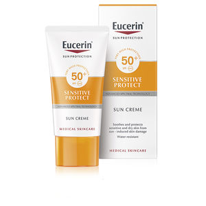 Faciales SENSITIVE PROTECT sun cream dry skin SPF50+ Eucerin