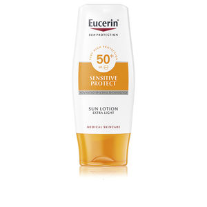 Corps SENSITIVE PROTECT sun lotion extra light SPF50+ Eucerin