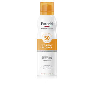 Corps SENSITIVE PROTECT sun spray transparent dry touch SPF50 Eucerin