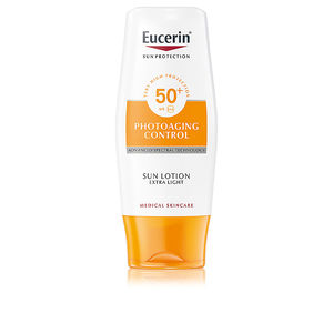 Faciais PHOTOAGING CONTROL sun lotion extra light SPF50+ Eucerin