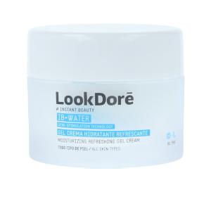 Soin du visage hydratant IB+WATER gel crema hidratante Look Dore