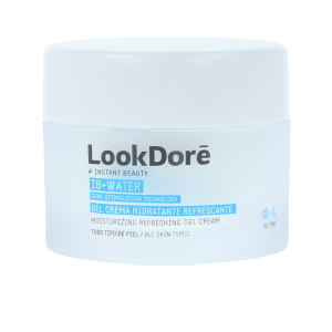 Face moisturizer IB+WATER gel crema hidratante Look Dore
