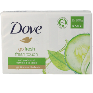 Bath Gift Sets JABON CREMA GO FRESH PEPINO & TE VERDE SET Dove