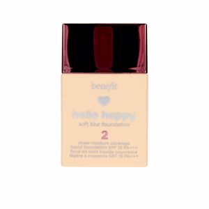 Foundation makeup HELLO HAPPY soft blur foundation SPF15 Benefit