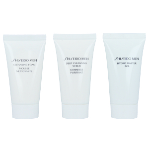 Face scrub - exfoliator MEN STARTER KIT Shiseido