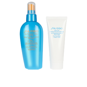 Korporal SUN PROTECTION SPRAY OIL FREE SPF15 SET Shiseido
