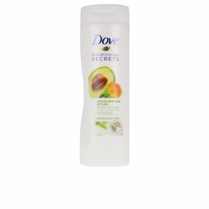 Hidratação corporal REVITALIZING RITUAL avocado oil body lotion Dove