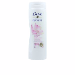 Hidratação corporal GLOWING RITUAL lotus flower body lotion Dove