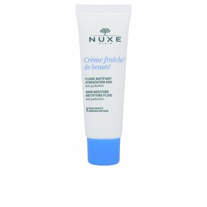 Matifying Treatment Cream CRÈME FRAICHE DE BEAUTÉ fluide matifiant hidratation 48h Nuxe