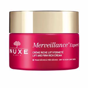 Tratamento para flacidez do rosto MERVEILLANCE EXPERT crème riche lift-fermeté Nuxe