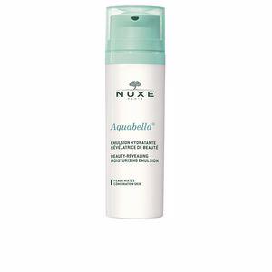 Face moisturizer AQUABELLA emulsion hydratante révélatrice de beauté Nuxe