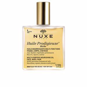 Idratante corpo HUILE PRODIGIEUSE huile riche vaporizattore Nuxe