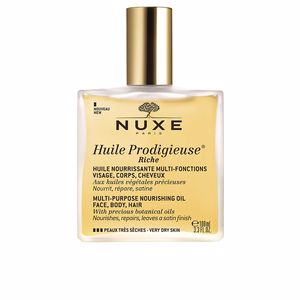 Körperfeuchtigkeitscreme HUILE PRODIGIEUSE huile riche spray Nuxe