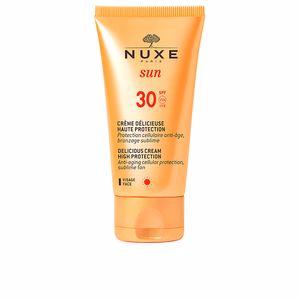 Viso NUXE SUN crème délicieuse haute protection SPF30 Nuxe