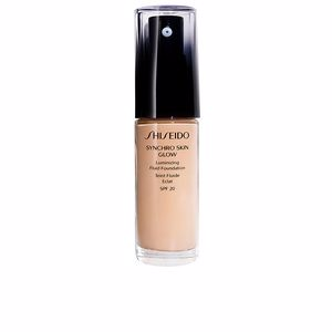 Base maquiagem SYNCHRO SKIN GLOW luminizing fluid foundation SPF20 Shiseido