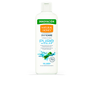 Shower gel PURE MICELAR gel ducha sin jabón Natural Honey