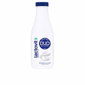Shower gel LACTOVIT DUO NUTRITIVO gel + loción Lactovit