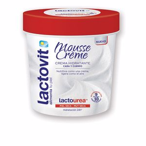 Body moisturiser LACTO-UREA MOUSSE CREME cara & cuerpo Lactovit