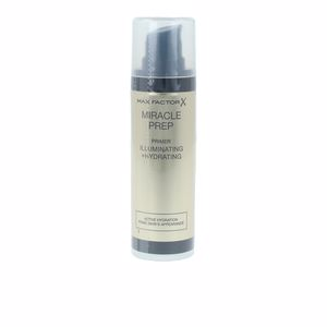 Foundation makeup MIRACLE PREP PRIMER illuminating + hydrating Max Factor