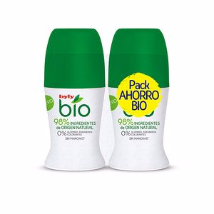 Set de bain et hygiène BIO NATURAL 0%  DEODORANT ROLL-ON COFFRET Byly