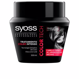 Masque pour les cheveux COLOR TECH mascarilla tratamiento intenso Syoss